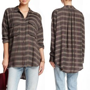 Free People Fawn Over You Button Down